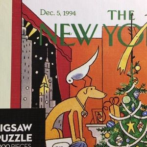 🦋New Listing🦋The New Yorker Cover Dec. 5, 1994